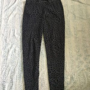 Climate Right Leopard Pants Size Large